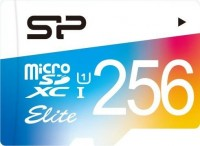 Карта памяти Silicon Power Elite Color microSDXC UHS-1 Class 10  256 ГБ