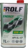 Моторное масло Rolf Energy 10W-40 SL/CF 1л