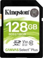 Карта памяти Kingston SDXC Canvas Select Plus  128ГБ