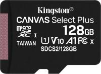 Фото - Карта памяти Kingston microSDXC Canvas Select Plus  128ГБ