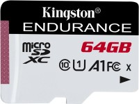 Фото - Карта памяти Kingston High-Endurance microSDXC  64 ГБ