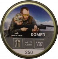 Пули и патроны BORNER Domed 4.5 mm 0.55 g 250 pcs