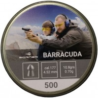 Пули и патроны BORNER Barracuda 4.5 mm 0.7 g 500 pcs