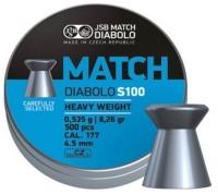 Фото - Пули и патроны JSB Match HW 4.5 mm 0.535 g 500 pcs