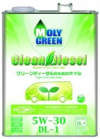 Фото - Моторное масло MolyGreen Clean Diesel 5W-30 DL-1 4L 4л