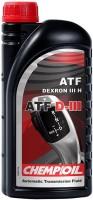 Фото - Трансмиссионное масло Chempioil ATF D-III 1л