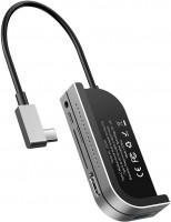 Картридер/USB-хаб BASEUS Bend Angle No. 7 Multifunctional Type-C