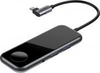 Картридер/USB-хаб BASEUS Superlative USB-C to 2 x USB3.0 + HDMI + Audio + PD + iWatch