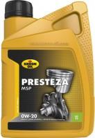 Моторное масло Kroon Presteza MSP 0W-20 1л