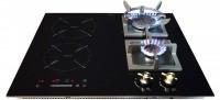 Фото - Варочная поверхность Luxor GI 67 DL Retro Booster черный