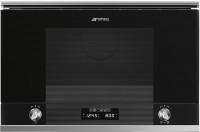 Фото - Встраиваемая микроволновая печь Smeg MP122N1