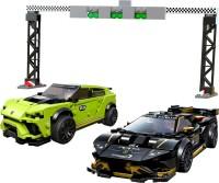 Фото - Конструктор Lego Lamborghini Urus ST-X and Lamborghini Huracan Super Trofeo EVO 76899