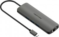 Картридер/USB-хаб Vention CGNHA