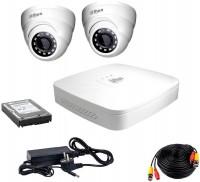 Фото - Комплект видеонаблюдения Dahua KIT-HDCVI-2D/HDD500
