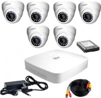 Фото - Комплект видеонаблюдения Dahua KIT-HDCVI-6D/HDD1000
