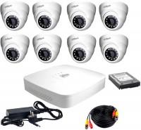 Комплект видеонаблюдения Dahua KIT-HDCVI-8D/HDD1000