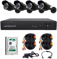 Комплект видеонаблюдения CoVi Security AHD-4W Kit/HDD500