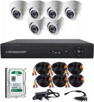 Комплект видеонаблюдения CoVi Security AHD-6D Kit/HDD1000