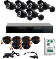 Комплект видеонаблюдения CoVi Security AHD-6W Kit/HDD1000