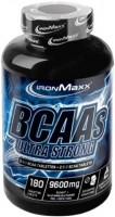 Фото - Амінокислоти IronMaxx BCAAs Ultra Strong 180 tab