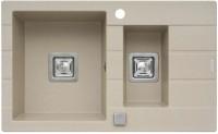 Фото - Кухонная мойка Pyramis Arkadia 78x48 1 1/2B 1D 780х480мм
