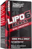 Сжигатель жира Nutrex Lipo-6 Black Ultra Concentrate 60 cap 60 шт