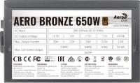 Блок питания Aerocool Aero Bronze  Aero Bronze 650W