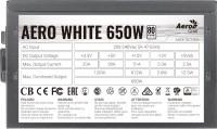 Фото - Блок питания Aerocool Aero White  Aero White 650W
