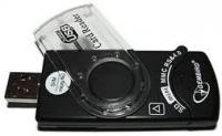 Картридер/USB-хаб Gembird FD2-ALLIN1-C1