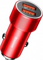 Зарядное устройство BASEUS Small Screw Dual-USB Quick Charge Car Charger