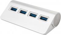 Картридер/USB-хаб Vinga VCPHTC2USB3S
