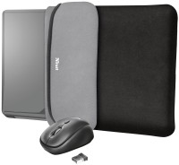 Сумка для ноутбуков Trust Yvo Reversible Sleeve 15.6 with Mouse 15.6 ""