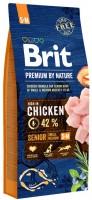 Корм для собак Brit Premium Senior S+M 3кг