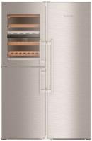 Холодильник Liebherr SBSes 8496 нержавеющая сталь