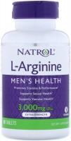 Фото - Амінокислоти Natrol L-Arginine 3000 mg 90 tab