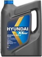 Моторное масло Hyundai XTeer Diesel Ultra 5W-40 6л