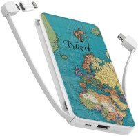 Фото - Powerbank аккумулятор ZIZ Travel map 10000