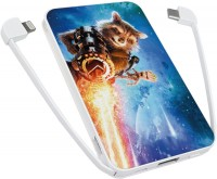 Фото - Powerbank аккумулятор ZIZ Raccoon Rocket 5000