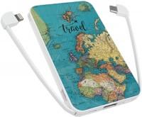 Powerbank аккумулятор ZIZ Travel map 5000