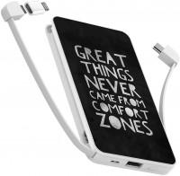 Фото - Powerbank аккумулятор ZIZ Leave the comfort zone 10000