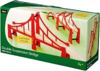 Фото - Автотрек / железная дорога BRIO Double Suspension Bridge 33683