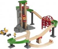 Фото - Автотрек / железная дорога BRIO Lift and Load Werehouse Set 33887