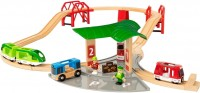 Автотрек / железная дорога BRIO Travel Station Set 33627