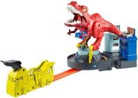 Автотрек / железная дорога Hot Wheels T-Rex Rampage