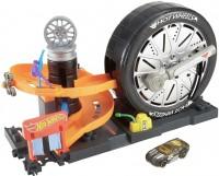 Автотрек / железная дорога Hot Wheels Super Spin Tire Shop