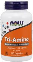 Аминокислоты Now Tri-Amino 120 cap