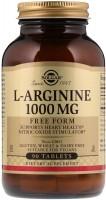 Фото - Аминокислоты SOLGAR L-Arginine 1000 mg 90 tab