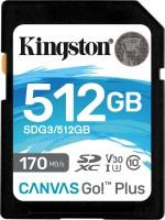 Фото - Карта памяти Kingston SDXC Canvas Go! Plus  512ГБ