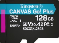 Карта памяти Kingston microSDXC Canvas Go! Plus  128 ГБ