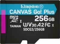 Карта памяти Kingston microSDXC Canvas Go! Plus  256 ГБ